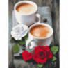Кофе на двоих Алмазная вышивка мозаика Алмазное Хобби
