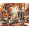 Осенний парк Алмазная вышивка мозаика Алмазное Хобби