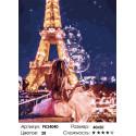 Сложность и количество цветов Вид на башню Раскраска картина по номерам на холсте PK24040