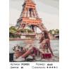 Сложность и количество цветов Лето в Париже Раскраска картина по номерам на холсте PK24025