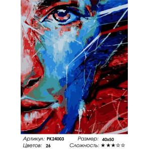 Сложность и количество цветов Сокровенные мысли Раскраска картина по номерам на холсте PK24003