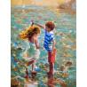 Танец на воде Раскраска картина по номерам на холсте Белоснежка 288-AS