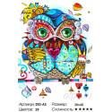 Сложность и количество цветов Венецианская сова Раскраска картина по номерам на холсте Белоснежка 292-AS