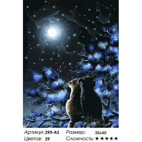 Сложность и количество цветов Созвездия Раскраска картина по номерам на холсте Белоснежка 295-AS