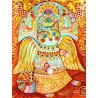 Солнечный кот Раскраска картина по номерам на холсте Белоснежка 297-AS