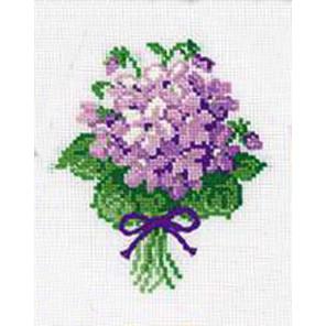 Фиалки Набор для вышивания Риолис 240