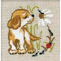 Щенок Набор для вышивания Риолис