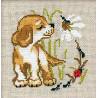 Щенок Набор для вышивания Риолис 672