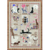 В рамке Календарь Набор для вышивания Риолис 728