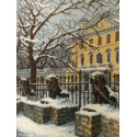 Зимний Петербург Набор для вышивания Риолис