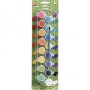 Яркие цвета 16шт Набор акриловых красок Apple Barrel Plaid