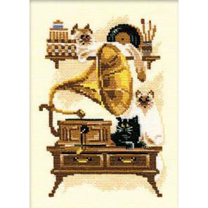 Патефон Набор для вышивания Риолис 859