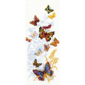 Бабочки России Набор для вышивания Риолис 902
