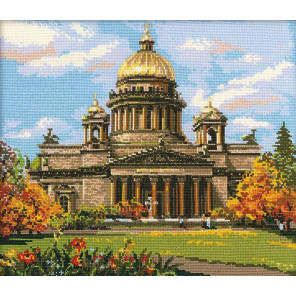 Исаакиевский собор Набор для вышивания Риолис 923