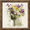 В рамке Полевые цветы Набор для вышивания Риолис 924