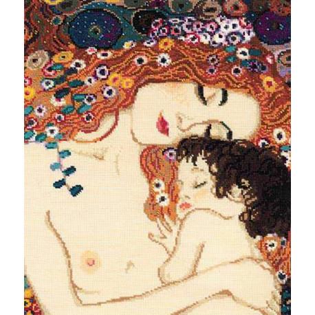 Материнская любовь. Г.Климт Набор для вышивания Риолис 916