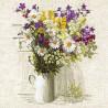 Полевые цветы Набор для вышивания Риолис 924