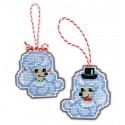 Собачки Набор для вышивания игрушек Риолис