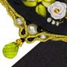 2_2 Белая роза Набор для вышивания кулона Риолис