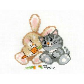 Любовь-морковь Набор для вышивания Риолис НВ103