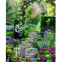 Прекрасный сад Раскраска картина по номерам Schipper (Германия)