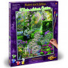 Внешний вид коробки Прекрасный сад Раскраска картина по номерам Schipper (Германия) 9130804