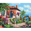 Загородный дом на море Раскраска картина по номерам Schipper (Германия) 9240795