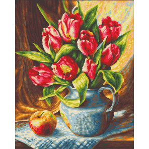 Букет Тюльпанов Раскраска картина по номерам Schipper (Германия) 9240796