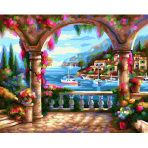 Вилла у моря Раскраска картина по номерам Schipper (Германия) 9240800