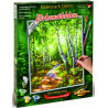 Внешний вид коробки Березовый лес Раскраска картина по номерам Schipper (Германия) 9240801