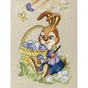 Пасхальный кролик Набор для вышивания Золотое Руно