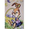 Фрагмент Пасхальный кролик Набор для вышивания Золотое Руно Д-063