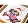 Фрагмент Косточка в подарок Набор для вышивания Золотое Руно Д-064