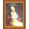 В рамке Материнская любовь Набор для вышивания Золотое Руно МК-002