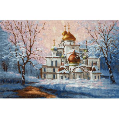 Воскресенский собор Новоиерусалимского монастыря Набор для вышивания Золотое Руно РП-012