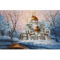 Воскресенский собор Новоиерусалимского монастыря Набор для вышивания Золотое Руно