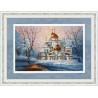 В рамке Воскресенский собор Новоиерусалимского монастыря Набор для вышивания Золотое Руно РП-012