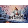 Фрагмент Воскресенский собор Новоиерусалимского монастыря Набор для вышивания Золотое Руно РП-012
