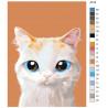 схема Красавчик Раскраска по номерам на холсте Живопись по номерам