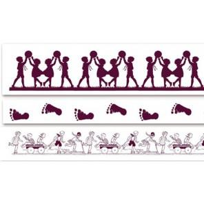 Бордюры Детские Штампы из пенорезины для оттисков Aladine