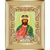 В рамке Господь Вседержитель Канва с рисунком для вышивки бисером Божья Коровка 0066