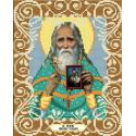 Святой старец Николай Гурьянов Канва с рисунком для вышивки бисером Божья коровка