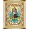 В рамке Святой старец Николай Гурьянов Канва с рисунком для вышивки бисером Божья Коровка 0064