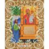 Богородица Нечаянная радость Канва с рисунком для вышивки бисером Божья Коровка 0062