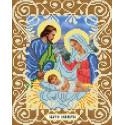 Святое семейство Канва с рисунком для вышивки бисером Божья коровка