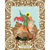 Святой Георгий Победоносец Канва с рисунком для вышивки бисером Божья Коровка 0056