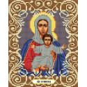Богородица Леушинская Канва с рисунком для вышивки бисером Божья коровка