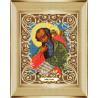 В рамке Святой Иоанн Богослов Канва с рисунком для вышивки бисером Божья Коровка 0049