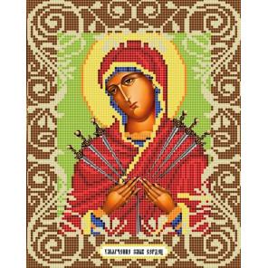 Умягчение злых сердец Канва с рисунком для вышивки бисером Божья Коровка 0048