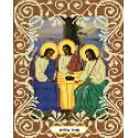 Святая Троица Канва с рисунком для вышивки бисером Божья коровка